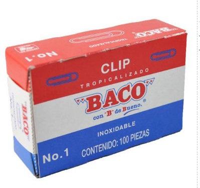 CLIP BACO TROPICALIZADO NO.1