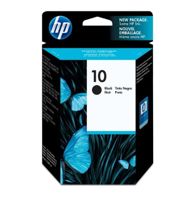 Cartucho de tinta negra HP 10