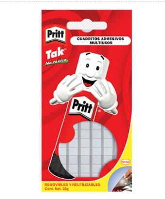 Cuadritos adhesivos Pritt Tak 35 grs