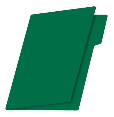 Fólder t. carta verde intenso c/25