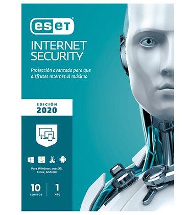 ESET INTERNET SECURITY 10 LIC V13 V2020