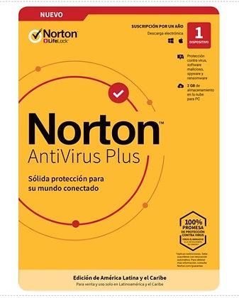 NORTON ANTIVIRUS PLUS 1 DISPOSITIVO
