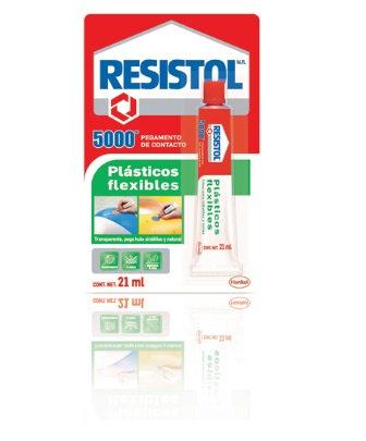 Resistol 5000 Plásticos 21ml