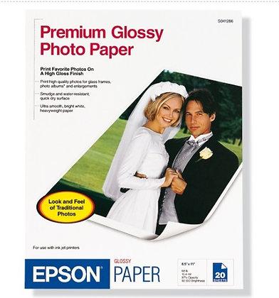 Papel fotografico premium satinado