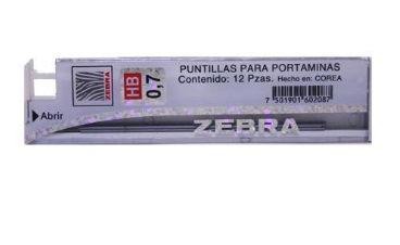 Puntillas de grafito HB 0.7mm