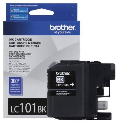 Cartucho de tinta LC101BK color negro