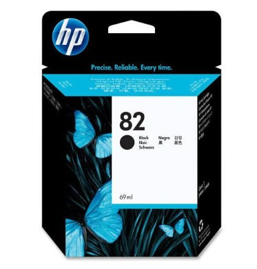 Cartucho de tina HP 82 negro de 69 ml UK