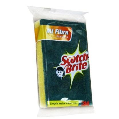FIBRA ESPONJA SCOTCH-BRITE (70X140MM)