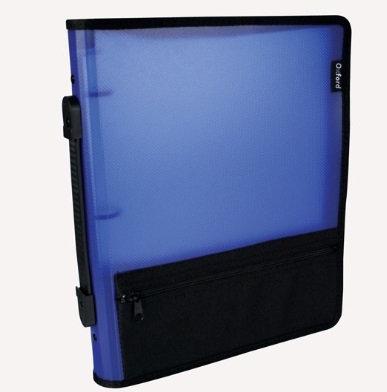 Carpeta d/argoll.C/cierr bolsa Azul 1
