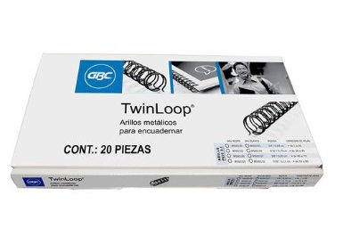 ARILLO METAL TWIN LOOP NG C/20 7/16
