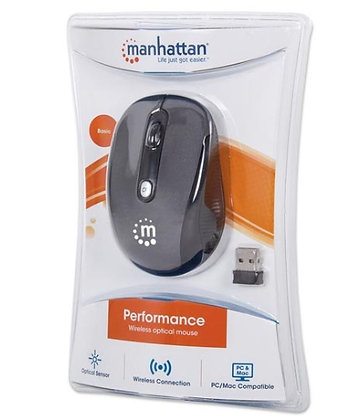 MOUSE PERFORMANCE INALAMBRICO GRIS