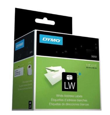 Etiqueta DYMO blanca de 89x28mm