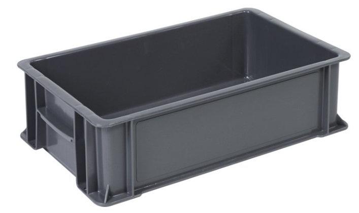 Caja industrial baja no. 1