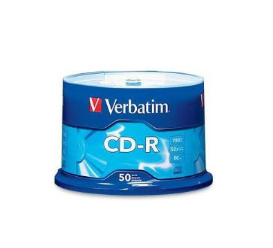 CD-R 80MIN/700MB DL 52X campana de 50