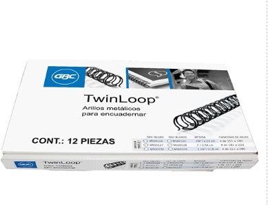 ARILLO METAL TWIN LOOP 1-1/4 C/12 NG