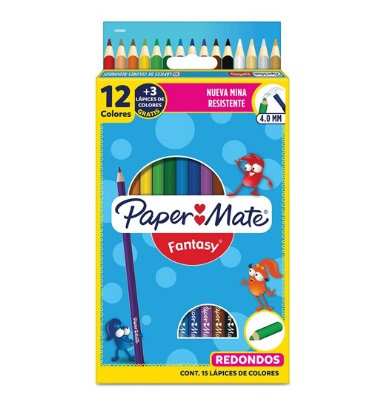 COLORES PAPER MATE REDONDOS