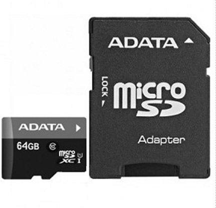 ADATA MICROSD 64GB CLASS10 - RETAIL A