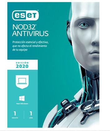 ESET NOD32 ANTIVIRUS 1LIC V13 V2020
