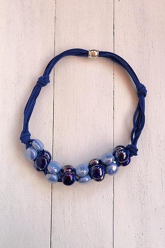 Gargantilla Dalia Azul