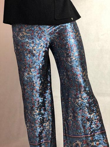 Pantalón terciopelo azul