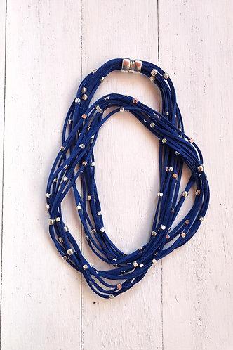 Collar Iria Azul Marino