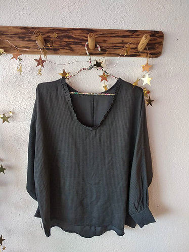 Blusa gris