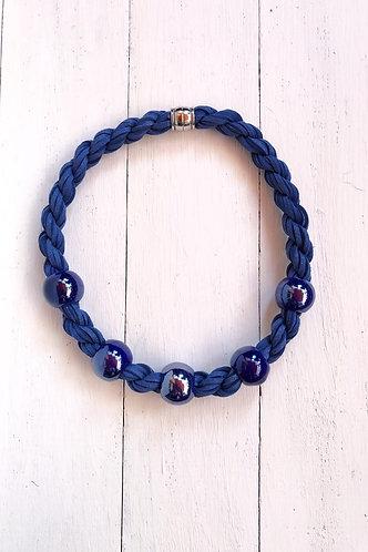 Gargantilla Agatha Azul Marino