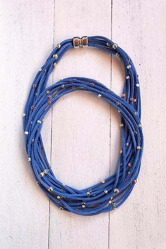 Collar Iria Azul Vaquero