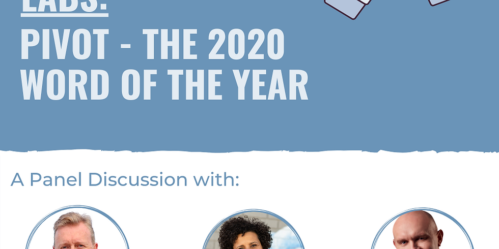 Coffee Chats at Tank Stream Labs: Pivot - the 2020 Word of the Year