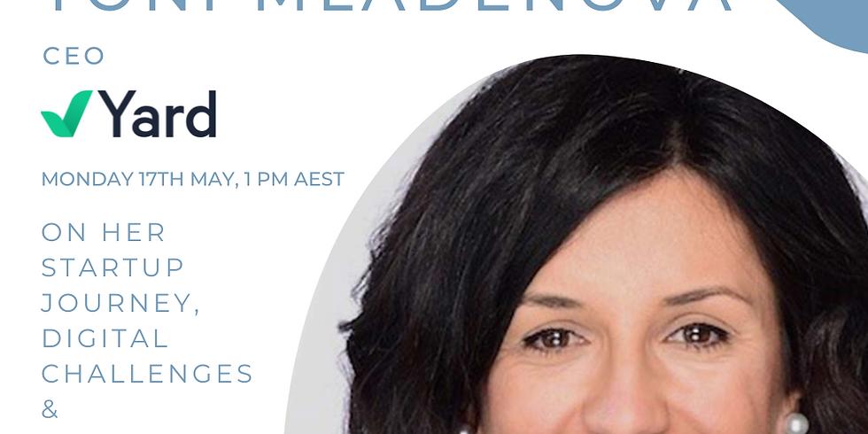 Founder Stories: Toni Mladenova, CEO, Yard