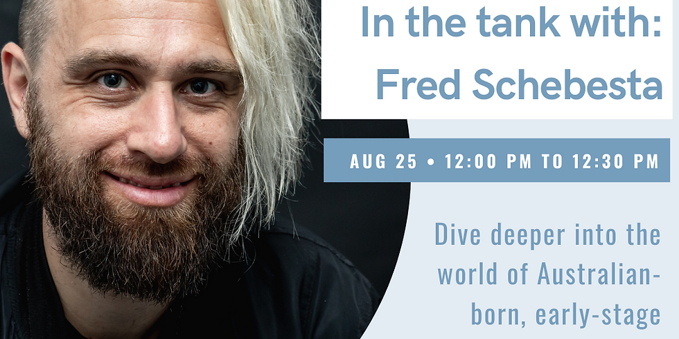 In the Tank with Fred Schebesta, Founder of Finder