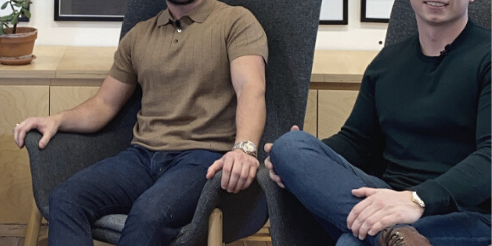 Founder Stories: Ryan Halson & Sam Yates, Co-Founder & Director, Discovered People