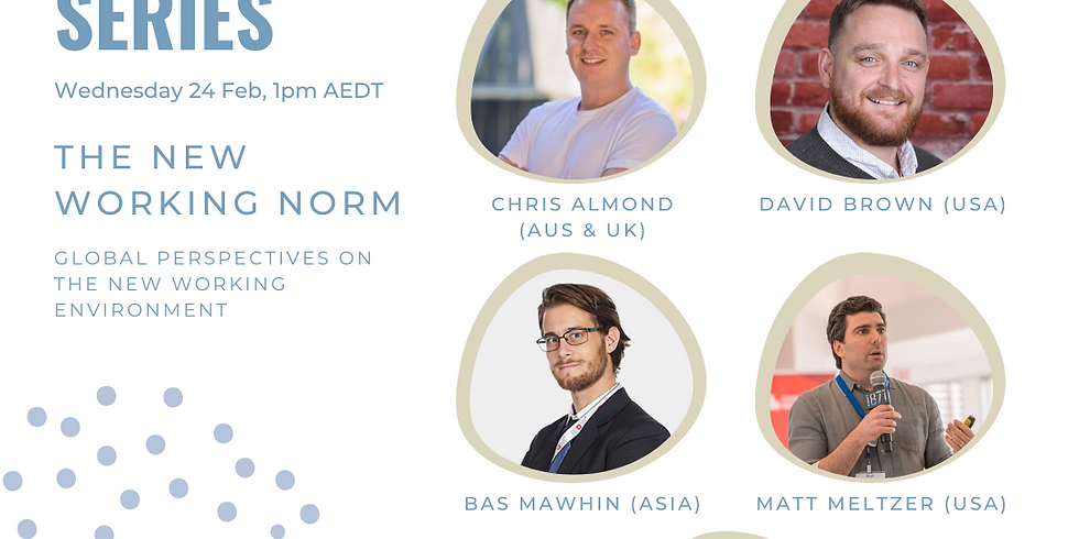 TSL Global Startup Series: The New Working Norm