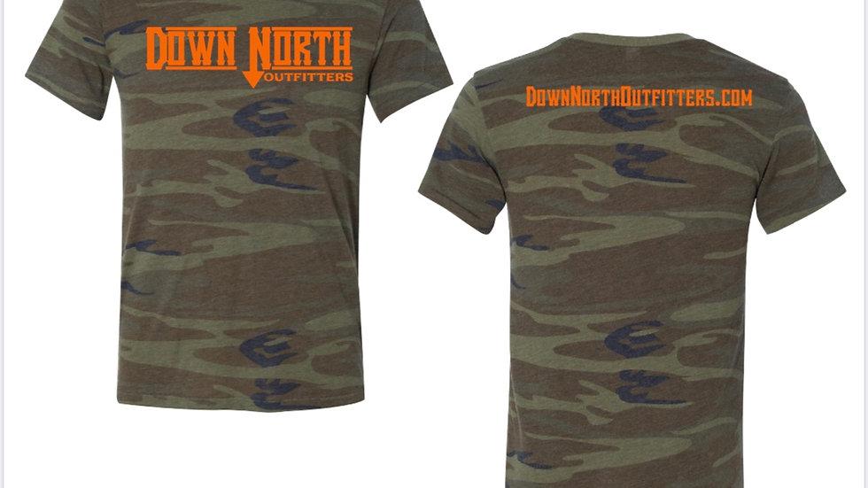 Camo Down North T-shirt
