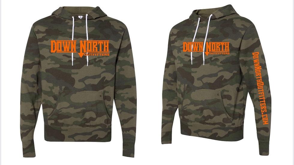 Camo Down North hoodie