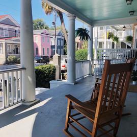 Large Open Front Porch