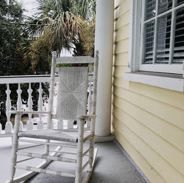 Rocking chairs for relaxing!