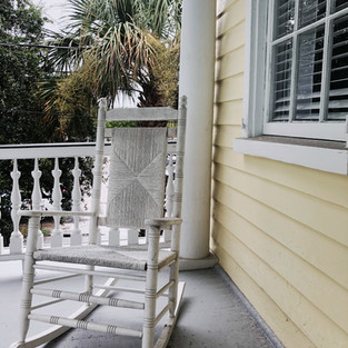 Relaxing front porch!