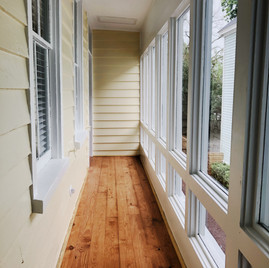 Side window hallway