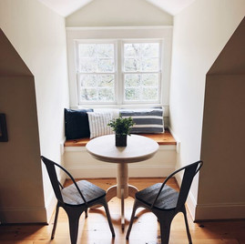 Loft nooks for reading, playing games, having coffee
