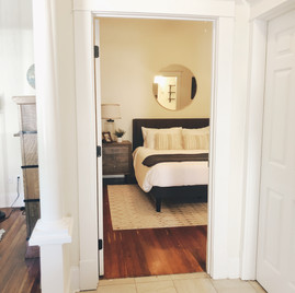 Bedroom from hallway