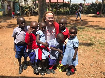Blackbird Leys Group in Kenya!