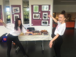 Cake stall at the Leys Fair & Oxford Academy...