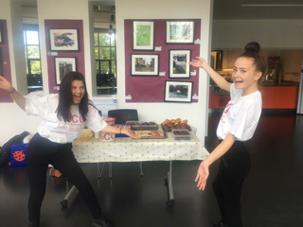 Cake stall at the Leys Fair & Oxford Academy...