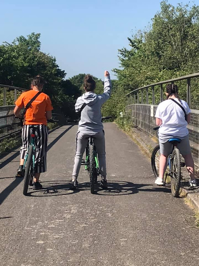 Berinsfield YoCO group completed a 5km bike ride