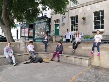Faringdon YoCo group ran/walked their 5km