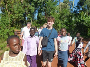 Izaac's Adventure with YoCO Abingdon in Kenya
