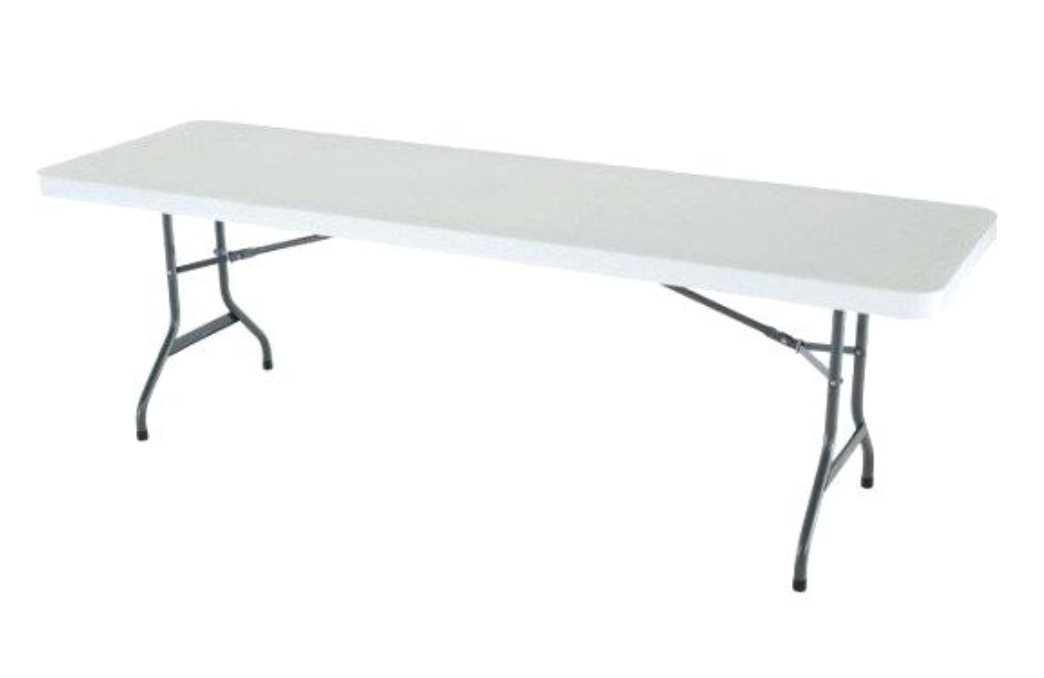 folding 6ft commercial trestle table