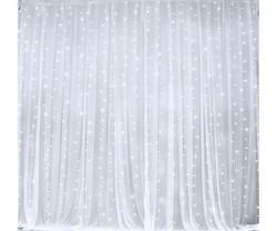LED CURTAIN WHITE