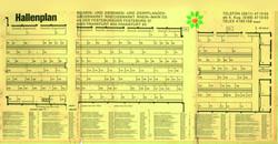 Hallenplan von 1984